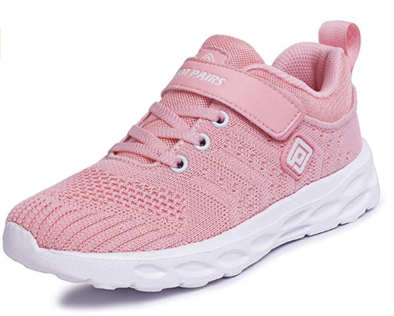 DREAM PAIRS Girls Athletic Running Shoes
