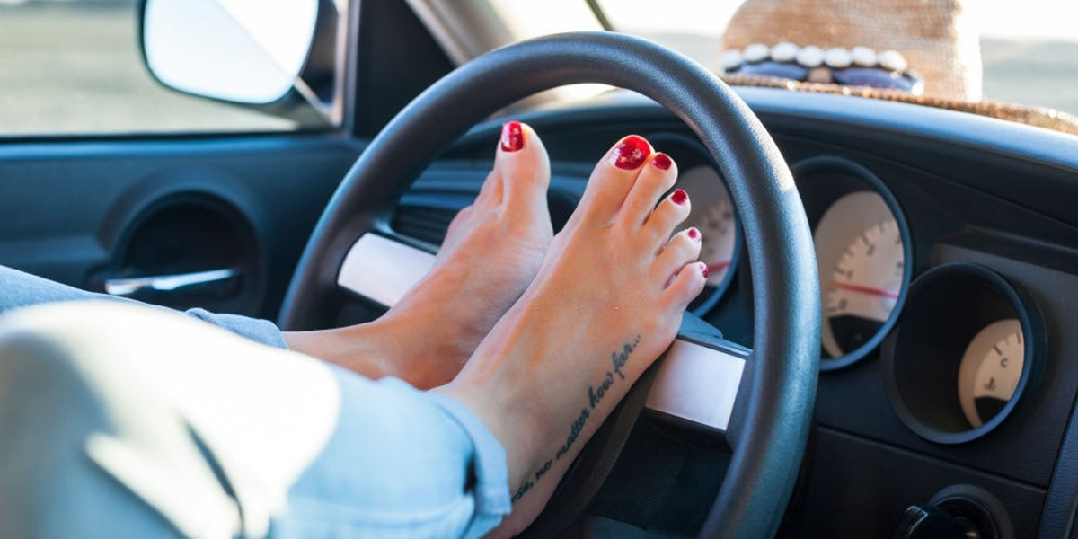 Is It Illegal to Drive Without Shoes?