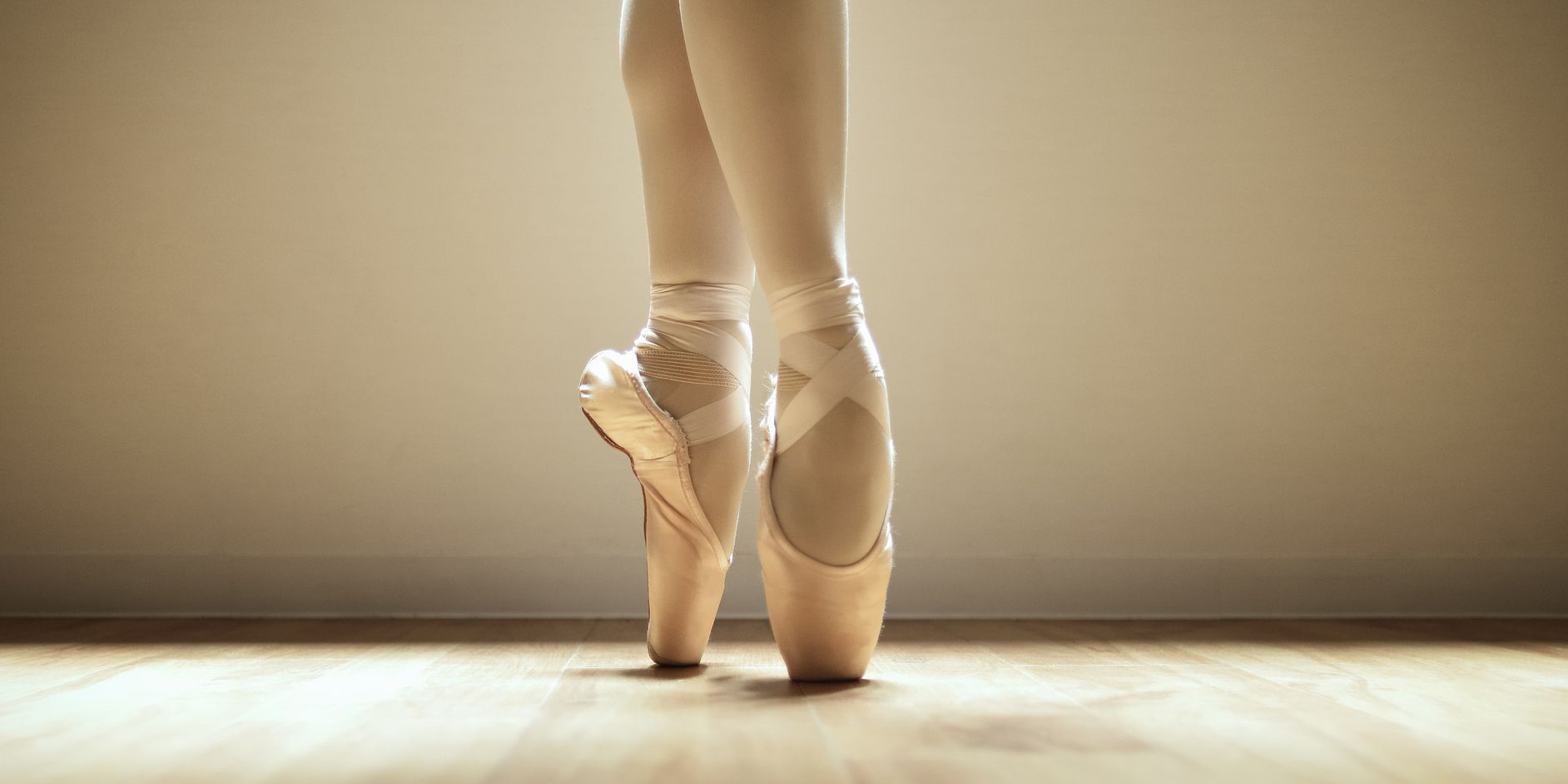 how to sew pointe shoes