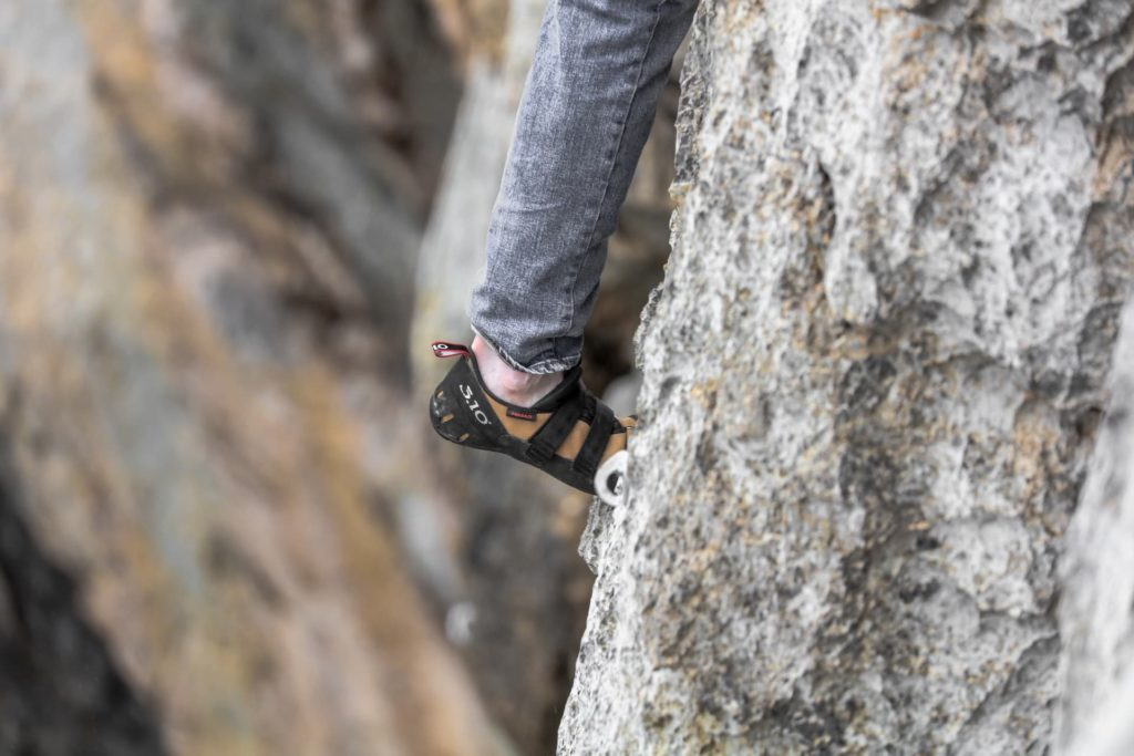 How to Stretch Rock Climbing Shoes