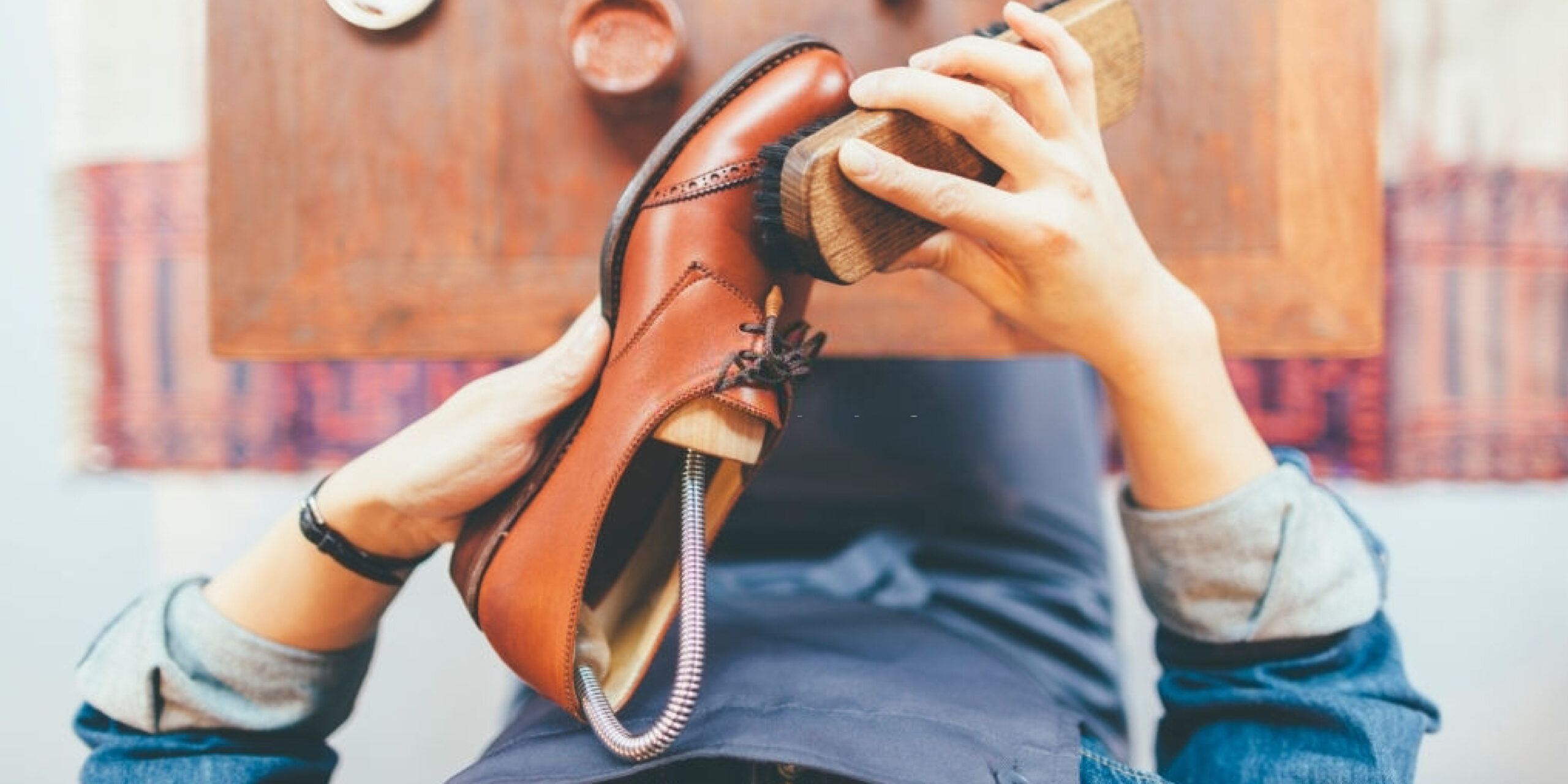 How to Polish Shoes to a Mirror Shine