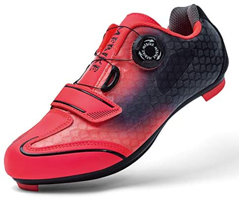 Cycling Shoes with Toe Clips